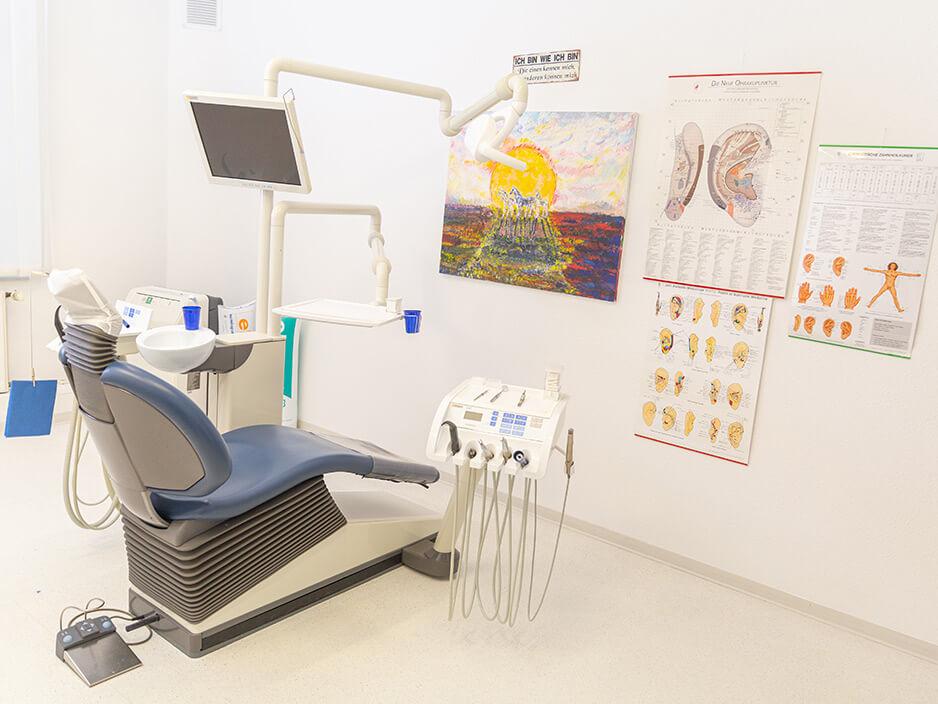 Zahnarztpraxis Kashi (Hamburg) - Behandlungzimmer